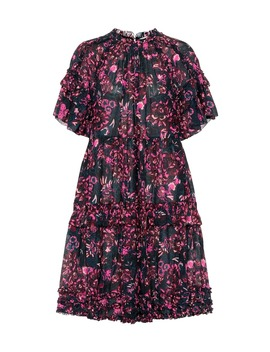 Fawn Floral Cotton Blend Dress by Ulla Johnson