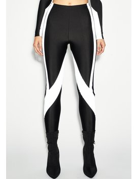 Drip Demeanor Reflective Leggings by Poster Grl