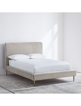 Roar + Rabbit™ Pleated Upholstered Bed by West Elm