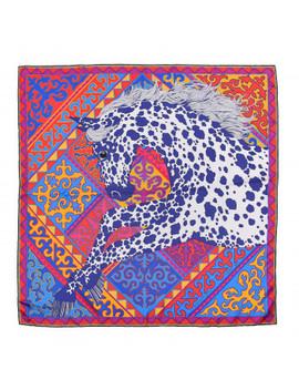 Hermes Silk Appaloosa Des Steppes Scarf 90 by Hermes