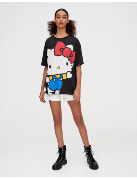Large Hello Kitty T Shirt by Pull & Bear