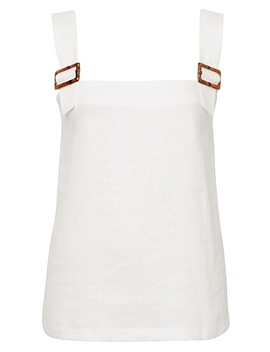 Buckle Detail Tank by Witchery