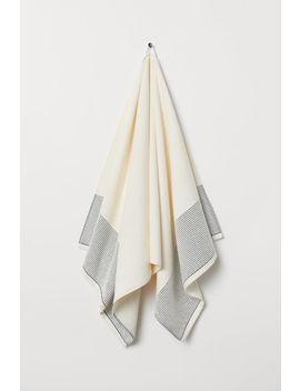 Badehåndklæde I Bomuldsfrotté by H&M