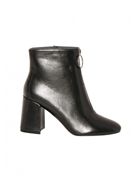 Ruby Black Zip Detail Boots by Missy Empire