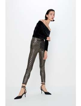 Legging Brillant by Zara