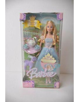 Odette Swan Lake Barbie Tea Party Fantasy Tales G6280 W/ Stuffed Horse New by Barbie