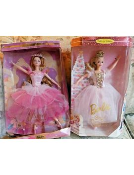 Mattel Sugar Plum Fairy & Flower Ballerina Nutcracker Ballet Dolls 1996 2000 by Mattel