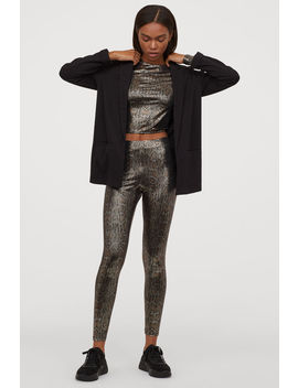 Shimmering Leggings by H&M