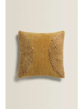 Chenille Cushion Cover by Zara