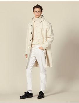Wool Duffle Coat by Sandro Paris