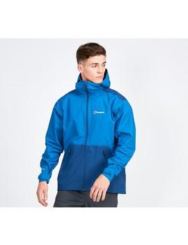 Deluge Pro Hooded Waterproof Jacket   Blue by Berghaus