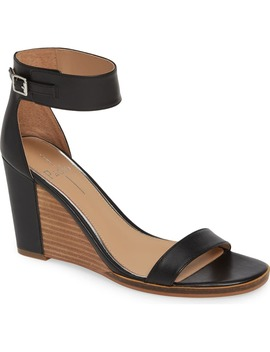 Elodie Wedge Sandal by Linea Paolo