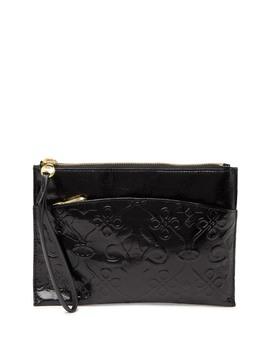 Noa Leather Wristlet Wallet by Hobo