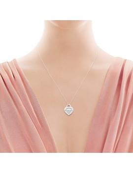 Return To Tiffany®        Heart Tag Pendant by Return To Tiffany®