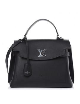 Louis Vuitton Soft Calfskin Lockme Ever Black by Louis Vuitton
