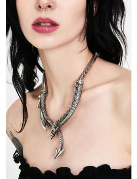 Dragons Lure Chain Necklace by Alchemy England