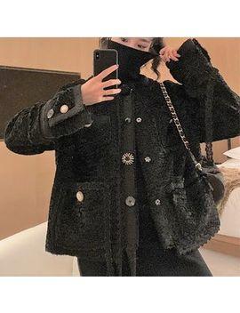 Paila   Fleece Button Jacket by Paila