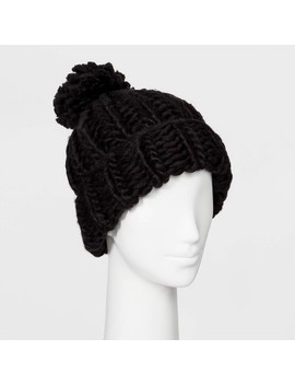 Women's Oversized Chunky Knit Beanie   Wild Fable™ by Wild Fable