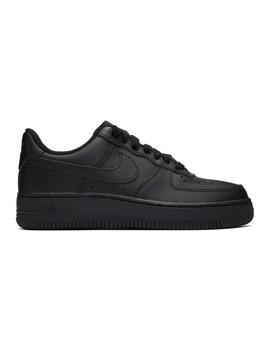 Black Air Force 1 Sneakers by Nike