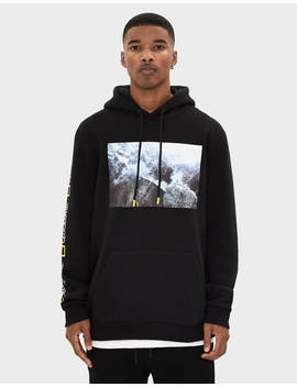 National Geographic Hoodie by Bershka