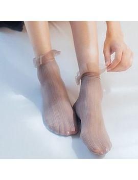 Nana Stockings   Lace Trim Socks by Nana Stockings