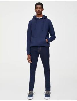Τζιν παντελόνι Skinny Fit σε σκούρο χρώμα by Pull & Bear