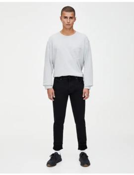 Μαύρο τζιν Skinny Fit by Pull & Bear