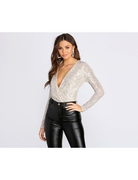 Such A Sequin Girl Bodysuit by Windsor