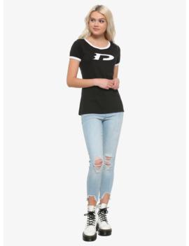 Danny Phantom Cosplay Girls Ringer T Shirt by Hot Topic