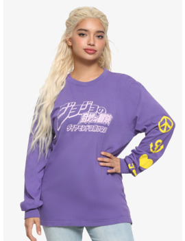 Jojo's Bizarre Adventure: Diamond Is Umbreakable Purple Girls Long Sleeve T Shirt by Hot Topic