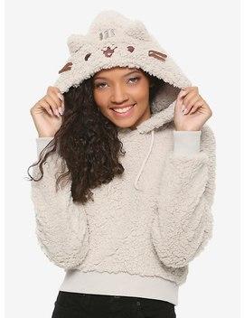 Pusheen Fuzzy Girls Hoodie by Hot Topic