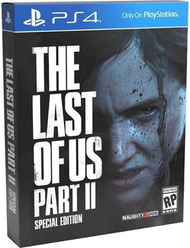 Play Station 4 by The Last Of Us Part Ii Special Edition