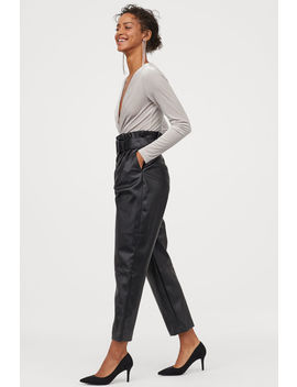 Draped Velour Bodysuit by H&M
