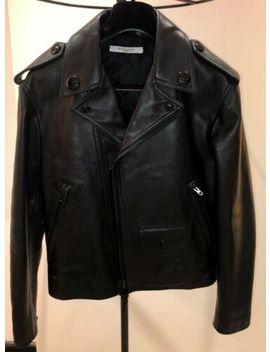 Givenchy, Black, Leather Jacket, Size 46 It by Ebay Seller