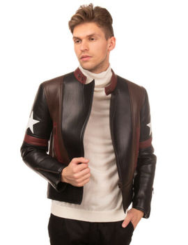 Rrp €4825 Givenchy Leather Racer Jacket Size 50 / L Asymmetric Zip Made In Italy by Ebay Seller