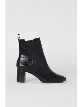 Ankle Boots With Stretch by H&M