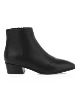 Fuoco Leather Ankle Boots by Aquatalia