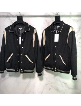 Pairs Fashion By Hedi Top Quality Silk Patched Women Men Baseball Jacket Coat High Streetwear Men Casual Slim Jacket by Ali Express.Com