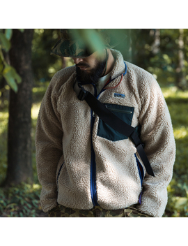 Bronson Sherpa Fleece Jacket Classic Retro 1989 Outdoor Full Zip Up Cardigan by Ali Express.Com