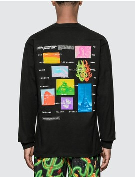 Great Future Long Sleeve T Shirt by              Stussy
