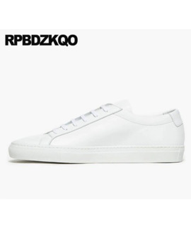 Casual 2018 Real Leather Genuine Trainers Fashion Large Size White 46 Comfort Men Sneakers Luxury Brand Korean Skate Shoes 11 by Ali Express.Com