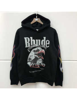 Rhude Hoodie Men Women 1:1 High Quality Rhude X Maxfield La Sweatshirts Streetwear Rhude Hoodies Pullover by Ali Express.Com