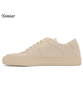Yomior Brand Handmade Men Shoes British Genuine Leather Comfortable Fashion Designer Sneakers Autumn Casual Flats White Loafers by Ali Express.Com