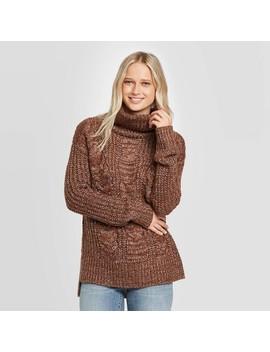 Women's Long Sleeve Cowl Neck Tunic Sweater   Universal Thread™ by Universal Thread
