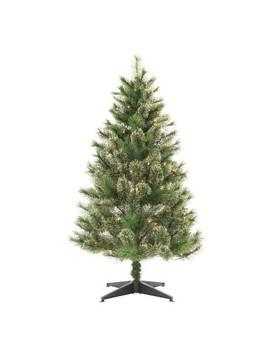 4.5ft Pre Lit Artificial Christmas Tree Slim Virginia Pine Clear Lights   Wondershop™ by Wondershop