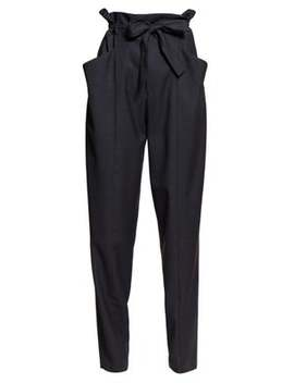 Vittoria Paperbag Waist Tailored Trousers by Isabel Marant Étoile