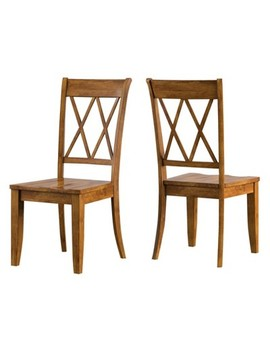 South Hill X Back Dining Chair 2 In Set   Inspire Q® by Inspire Q
