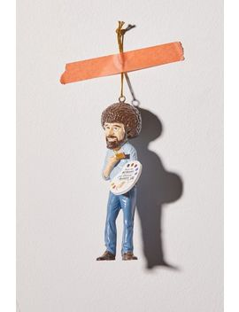 Bob Ross Christmas Ornament by Urban Outfitters