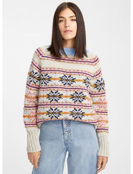 Jacquard Snowflake Sweater by Smythe