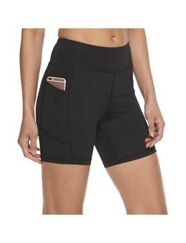 Women's Adrienne Vittadini Bike Shorts by Adrienne Vittadini